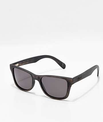 Shwood Canby Distressed Dark Walnut Sunglasses