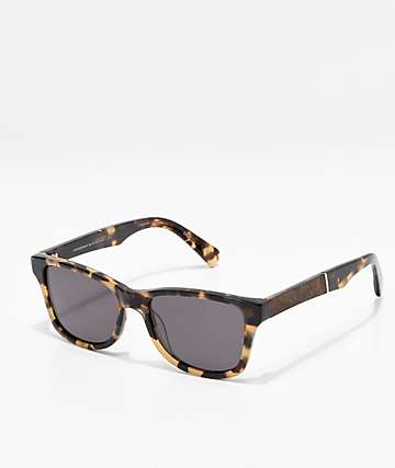 Shwood Canby Havana Elm Burl Sunglasses