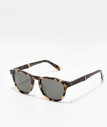 Shwood Francis Havana Elm Burl Sunglasses