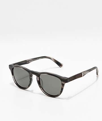 Shwood Francis Matte Grey Elm Burl Sunglasses
