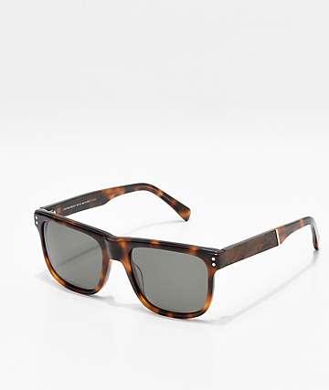 Shwood Monroe Elm Burl gafas de sol marrones