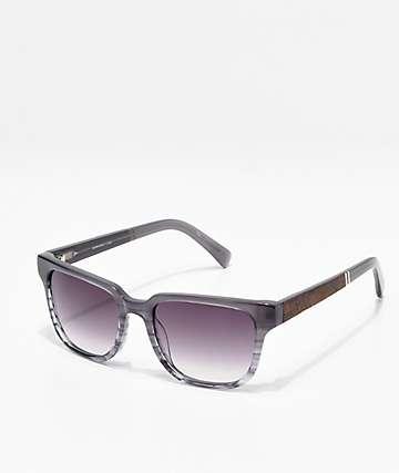 Shwood Prescott Mist Elm Grey Acetate Sunglasses