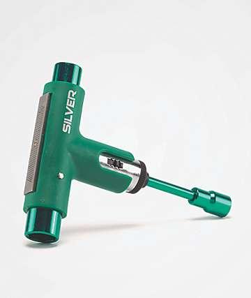 Silver Spectrum Green Skate Tool