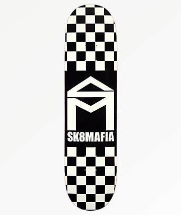 "Sk8Mafia Checker 8.0"" Skateboard Deck"