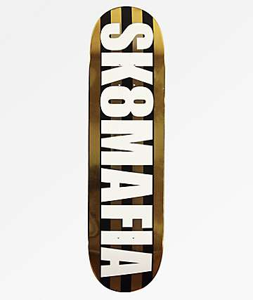 "Sk8Mafia Honey OG Logo 8.38"" Skateboard Deck"