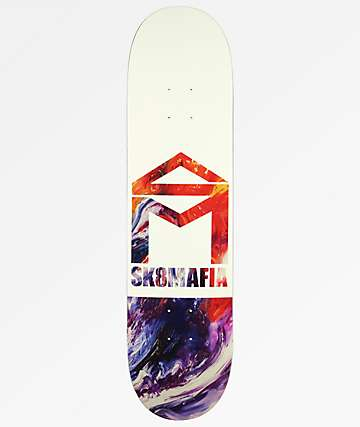 "Sk8Mafia House Logo Oil 8.0"" Skateboard Deck"