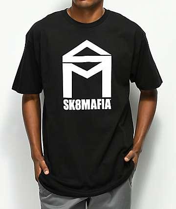 Sk8Mafia House Logo camiseta negra