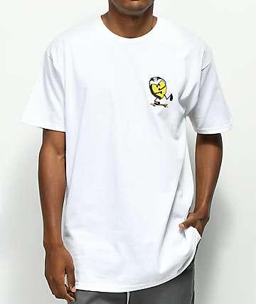 Sk8Mafia Rising Sun camiseta blanca