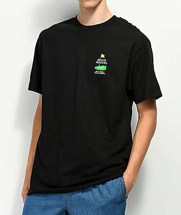 Skate Mental Tennis Championship Black T-Shirt