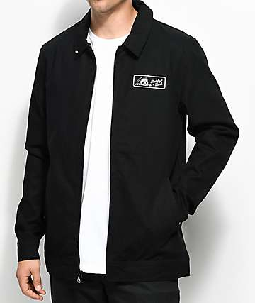Sketchy Tank Bad Gas Black Twill Jacket