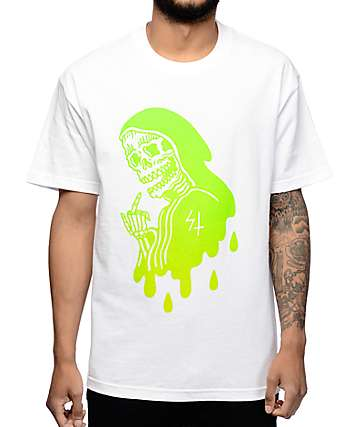 Sketchy Tank Heat White T-Shirt