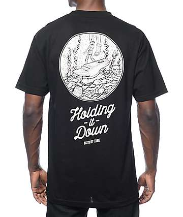 Sketchy Tank Killer camiseta negra