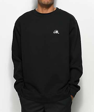 Sketchy Tank Lurk Black Crew Neck Sweatshirt