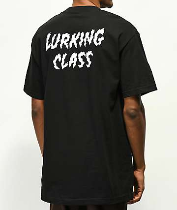Sketchy Tank Lurking Class Black T-Shirt