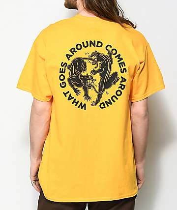 Sketchy Tank Lurking Class Karma 2 Gold T-Shirt