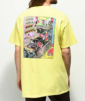 Sketchy Tank Lurking Class Nazar 2 Yellow T-Shirt