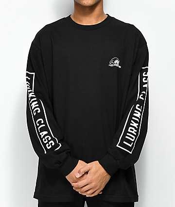 Sketchy Tank Lurking Class camiseta negra de manga larga