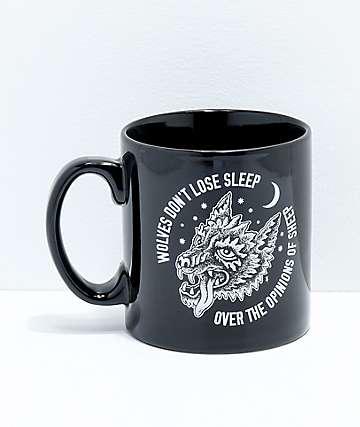 Sketchy Tank Opinions Black Mug