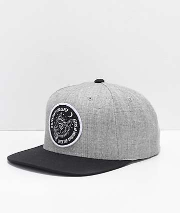 Sketchy Tank Opinions Heather Grey Snapback Hat