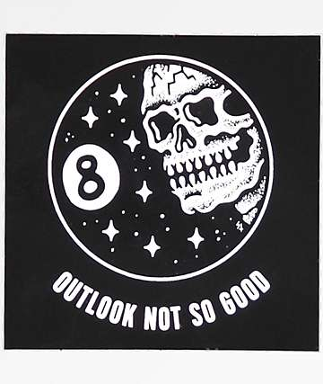 Sketchy Tank Outlook Not So Good Sticker