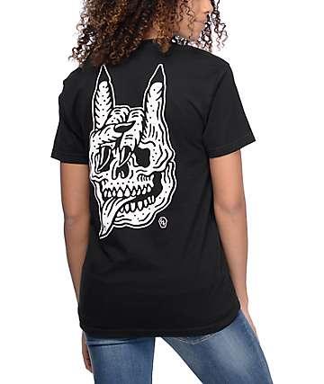 Sketchy Tank Seek & Destroy camiseta negra