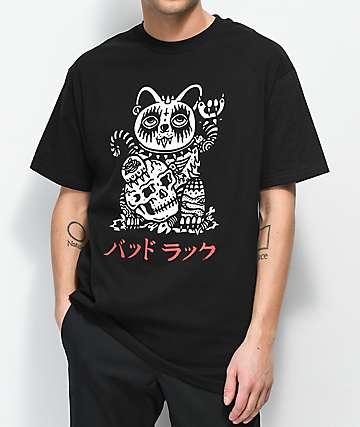 Sketchy Tank Unlucky Black T-Shirt