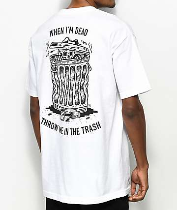Sketchy Tank When I Die White T-Shirt