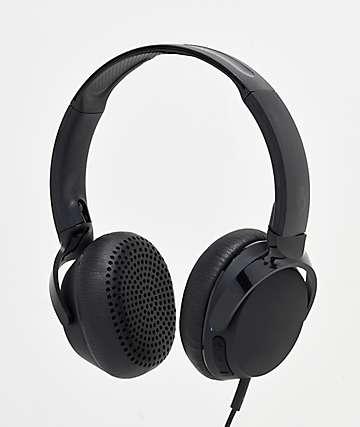 Skullcandy Riff Black On-Ear Headphones