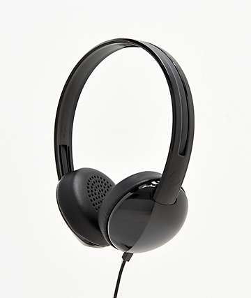 Skullcandy Stim Black & Charcoal On-Ear Headphones