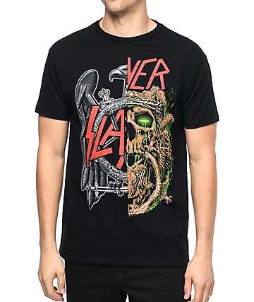 Slayer Split camiseta negra