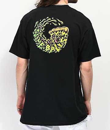 Slime Balls Pukaroni Black T-Shirt