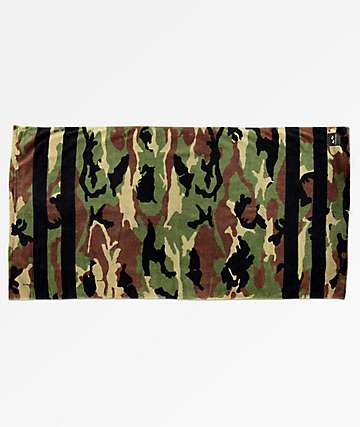 Slowtide Regime Camo Beach Towel