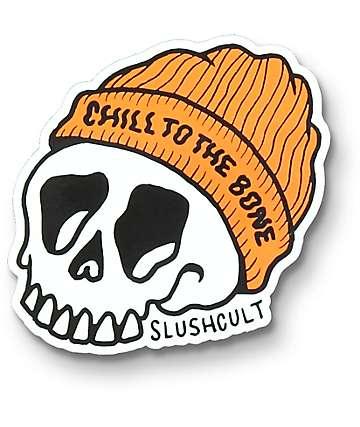 Slushcult Chill To The Bone pegatina