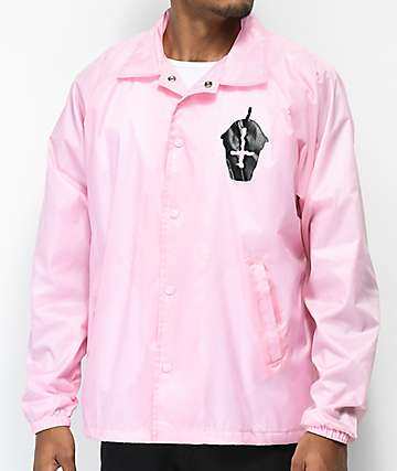 Slushcult Core Pink Coaches Jacket
