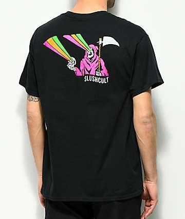 Slushcult Death Rays camiseta negra