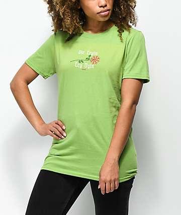 Slushcult Die Tryin camiseta verde
