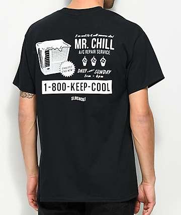 Slushcult Mr. Chill Black T-Shirt