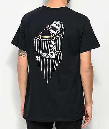 Slushcult Reaper Black T-Shirt
