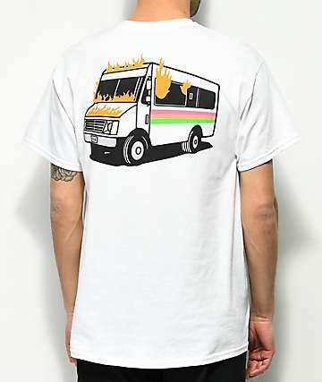 Slushcult We All Scream camiseta blanca