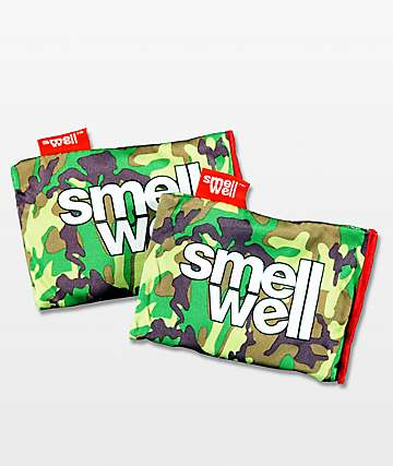 Smell Well Camo Pouch