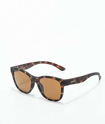 Smith Caper Matte Tortoise Polarized Sunglasses