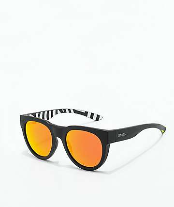 Smith Crusader Squall & Sun Red Mirror Sunglasses