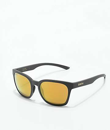 Smith Founder Matte Grey & Bronze Polarized Sunglasses