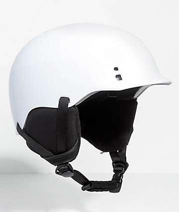 Smith Gage casco de snowboard en blanco
