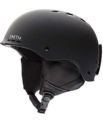 Smith Holt Black Snowboard Helmet