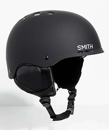 Smith Holt Matte Black Snowboard Helmet