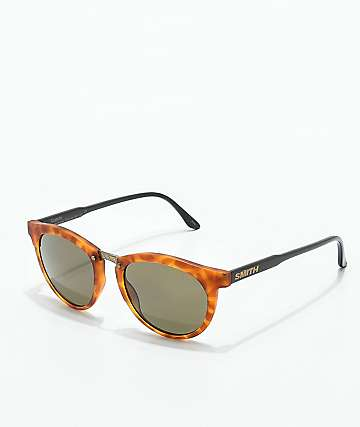 Smith Questa Matte Honey Tortoise Polarized Sunglasses