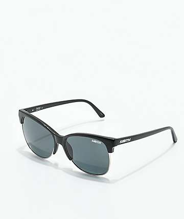 Smith Rebel Black Polarized Grey Sunglasses