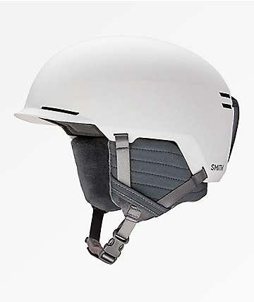 Smith Scout casco de snowboard en blanco