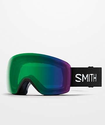 Smith Skyline Black & Everyday Green gafas de snowboard